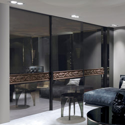Headline | Glass dividing walls | Longhi S.p.a.