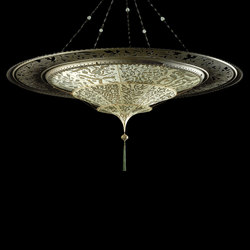 Scheherazade 3 tiers with ring | Suspended lights | Venetia Studium