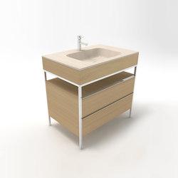 CNC 90 bathroom unit | Vanity units | Zaninelli