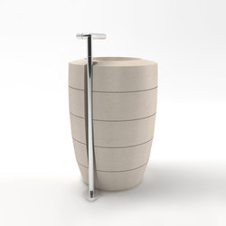 CNC Totem sink | Wash basins | Zaninelli