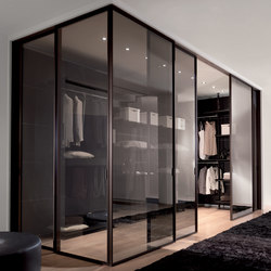 Vertical | Walk-in wardrobes | Longhi