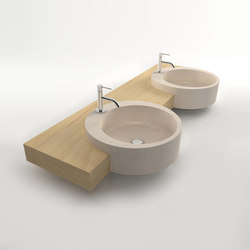 Celtic Double sink | Wash basins | Zaninelli