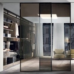 Screen | Glass dividing walls | Longhi
