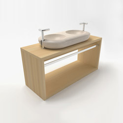 Minimalist vanity cabinet | Armarios lavabo | Zaninelli