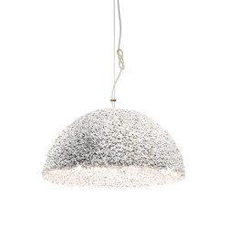 The Duchess pendant lamp white medium | Suspended lights | mammalampa