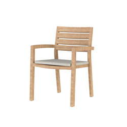 Ambra armchair - teak | Garden chairs | Ethimo
