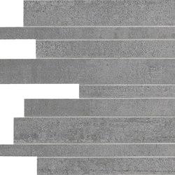 Link Slate Grey Strips | Mosaike | Keope