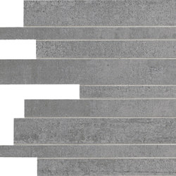Link Slate Grey Strips | Mosaici | Keope