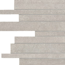 Link Pale Silver Strips | Mosaics | Keope
