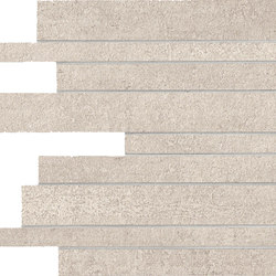 Link Ghost White Strips | Ceramic mosaics | Keope