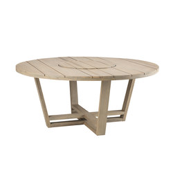 Costes table ronde | Tables à manger de jardin | Ethimo