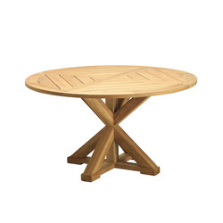 Cronos round table | Dining tables | Ethimo