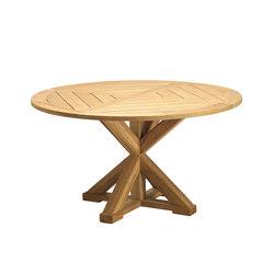 Cronos table ronde | Tables à manger de jardin | Ethimo