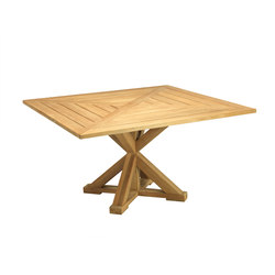 Cronos table carré | Tables à manger de jardin | Ethimo