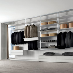 Fly-System | Walk-in wardrobes | Longhi