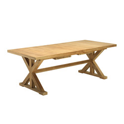 Cronos rectangular table | Dining tables | Ethimo