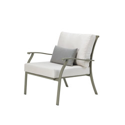 Elisir lounge armchair | Garden armchairs | Ethimo
