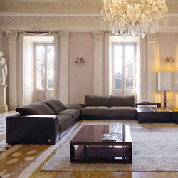 Alfred | Modular sofa systems | Longhi S.p.a.