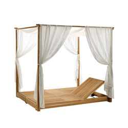Essenza lounge bed | Gazebos | Ethimo