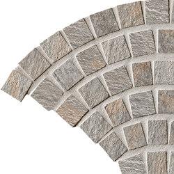 In&Out - Percorsi Quartz Coda di Pavone Grey | Mosaici ceramica | Keope