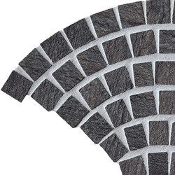 In&Out - Percorsi Quartz Coda di Pavone Black | Mosaici ceramica | Keope