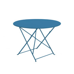 Flower folding table round | Dining tables | Ethimo