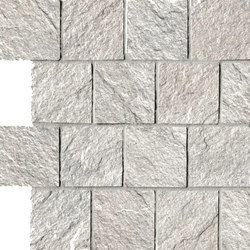 In&Out - Percorsi Quartz Mosaico White | Mosaïques | Keope