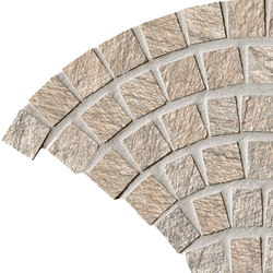 In&Out - Percorsi Quartz Coda di Pavone Sand | Ceramic mosaics | Keope