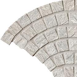 In&Out - Percorsi Quartz Coda di Pavone White | Ceramic mosaics | Keope