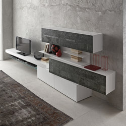 inclinART Pietra | Wall storage systems | Presotto