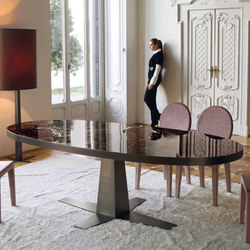 Rim | Dining tables | Longhi S.p.a.