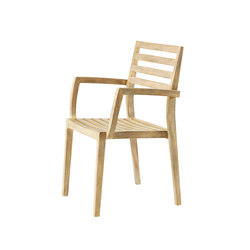 Stella dining armchair | Garden chairs | Ethimo