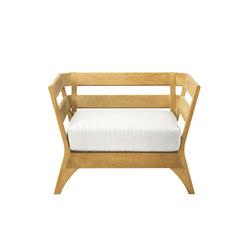 Village lounge armchair | Garden armchairs | Ethimo