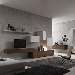 InclinART Ecomalta® | Wall storage systems | Presotto