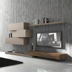 Inclinart ecomalta schr nke von presotto architonic for Presotto pareti attrezzate