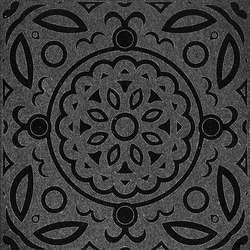 Maiolica Reverse | Absolute Black | Azulejos de pared de piedra natural | Iqual