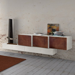 InclinART Cor-ten | Sideboards | Presotto
