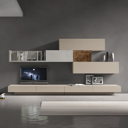 InclinART Vintage | Wall storage systems | Presotto