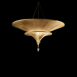 Fortuny Icaro 2 tiers | Suspended lights | Venetia Studium