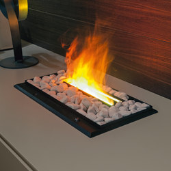 Fireplaces electric | Furniture integrated fires | Presotto