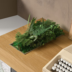 Built_in multi_purpose tray | Plant holders / Plant stands | Presotto