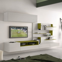 I-modulART_290 | Wall storage systems | Presotto