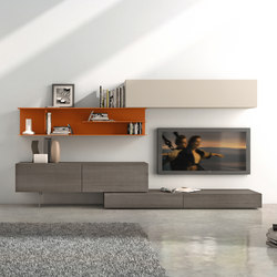 I-modulART_278 | Wall storage systems | Presotto