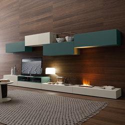 I-modulART_276 | Wohnwände | Presotto