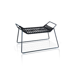 Out_Line Hocker mit Polyesterleine | Gartenhocker | Expormim