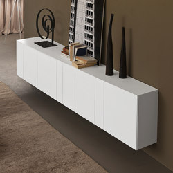 Madie inclinart sideboards from presotto architonic - Sideboard wandmontage ...