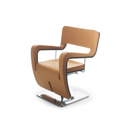 Tsu Pelle | MG BROSS Fauteuils de Coiffure | Barber chairs | GAMMA & BROSS