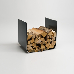 U-Board wood log holder | Accessori caminetti | lebenszubehoer by stef's