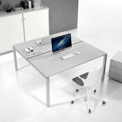 Italo | Systèmes de tables de bureau | ALEA
