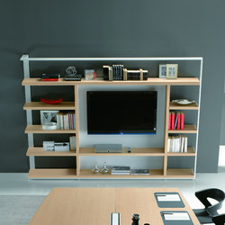 Odeon | Office shelving systems | ALEA